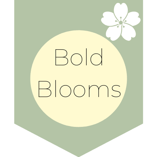 Bold Blooms Banner